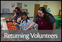 Returning Volunteers